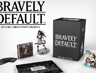 Bravely Default Deluxe Collector's Edition – unboxing