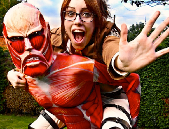 Attack on Titan cosplay video