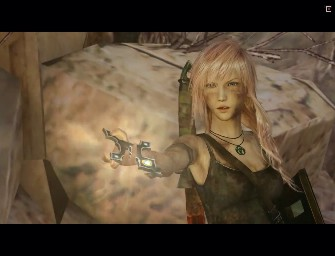 Final Fantasy XIII met Lara Croft
