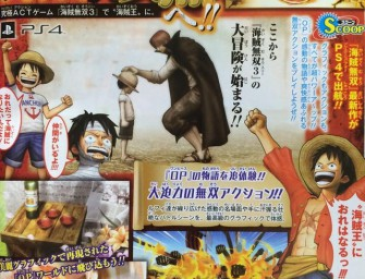 One Piece: Pirate Warriors 3 aangekondigd!